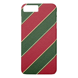 Christmas stripe iPhone 7 plus barely there case