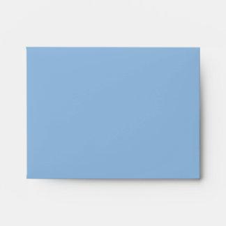 Christmas Stripes blue A2 Envelope