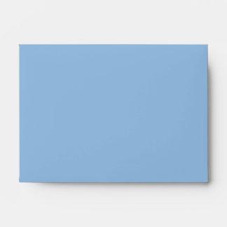 Christmas Stripes blue A6 Envelope