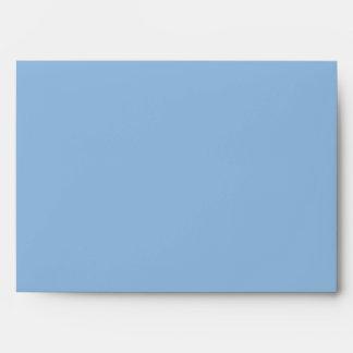 Christmas Stripes blue A7 Envelope