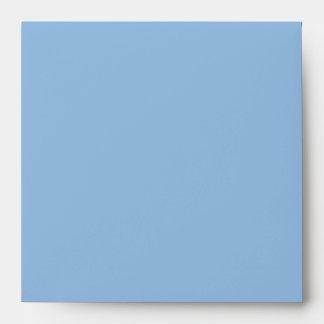 Christmas Stripes blue Invitation Envelope