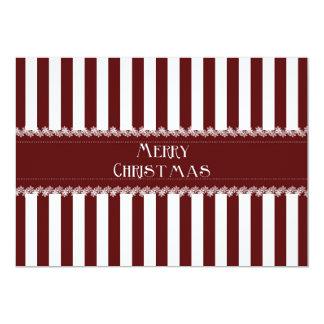Christmas Stripes Card