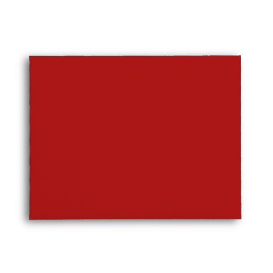 Christmas Stripes red A2 Envelope
