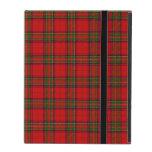 Christmas Stuart Tartan iPad Folio Case