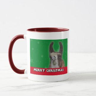 Christmas Stud Llama Happy New Year Mug