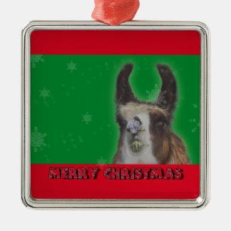 Christmas Stud Llama Happy New Year Christmas Ornament