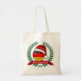 Christmas Style German Flag Tote Bag
