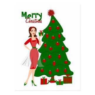Christmas Style Postcard