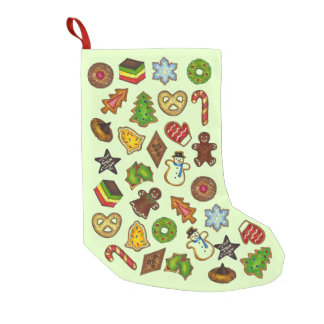 Christmas Sugar Cookie Holiday Cookies Stocking