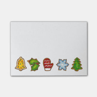 Christmas Sugar Cookies Holiday Cookie Post-It Post-it Notes