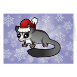Christmas Sugar Glider Greeting Card
