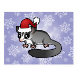 Christmas Sugar Glider Postcard