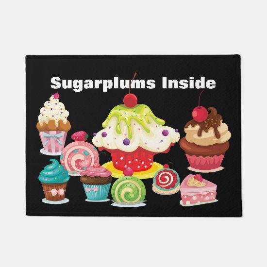 Christmas Sugarplums Doormat