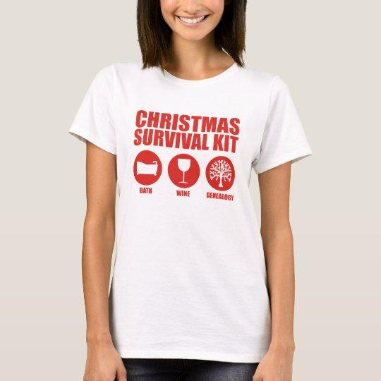 Christmas Survival Kit - Bath T-Shirt