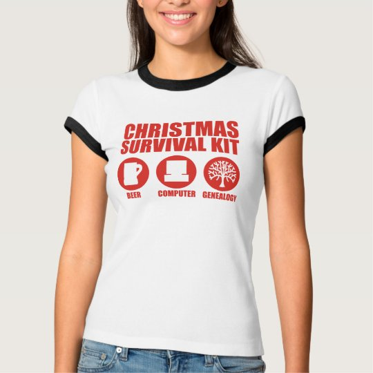 Christmas Survival Kit - Beer T-Shirt