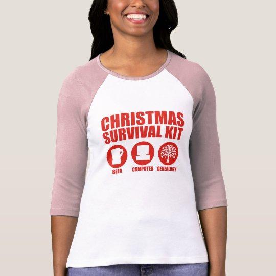 Christmas Survival Kit - Beer T-Shirt
