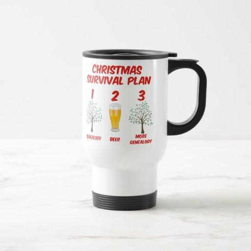 Christmas Survival Plan Mugs