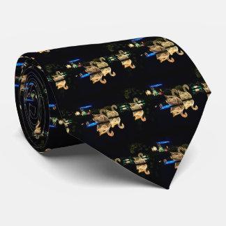 Christmas Swans 2016 Neck Tie