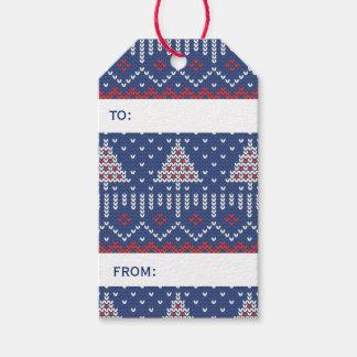 Christmas Sweater Custom Gift-tag Gift Tags