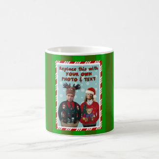 Christmas Sweater-ized Holiday Mug