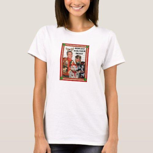 Christmas Sweater-izer T-Shirt-Woman-Babydoll T-Shirt After Christmas Sales 5721