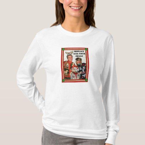 Christmas Sweater-izer T-Shirt-Woman-Longsleeve T-Shirt After Christmas Sales 5285
