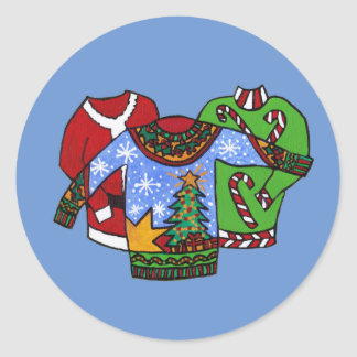 Christmas Sweater Stickers