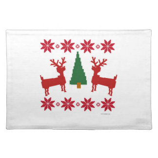 Christmas Sweater Style Placemat