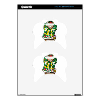 Christmas Sweater Xbox 360 Controller Decal