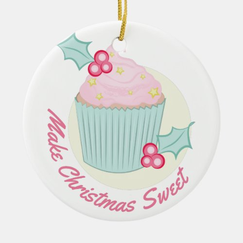Christmas Sweet Ceramic Ornament