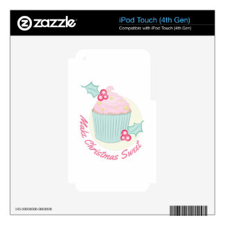 Christmas Sweet Decal For iPod Touch 4G