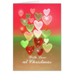 Christmas Sweet Hearts with Love Card