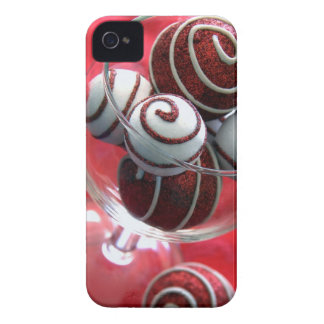 Christmas Swirls iPhone 4 Case-Mate Cases