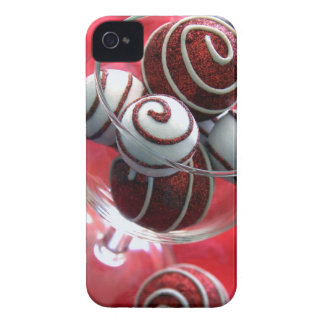 Christmas Swirls Case-Mate iPhone 4 Cases
