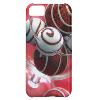 Christmas Swirls iphone Cover iPhone 5C Cover