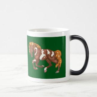 Christmas Symbols Horse Morphing Mug