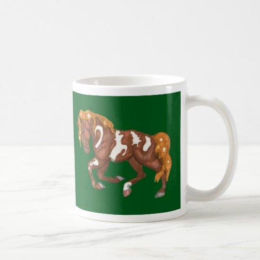 Christmas Symbols Horse Mug