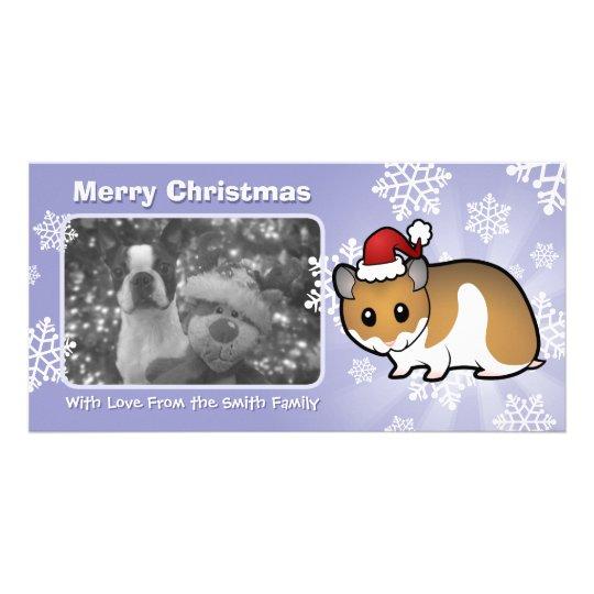Christmas Syrian Hamster Card