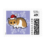 Christmas Syrian Hamster Stamps