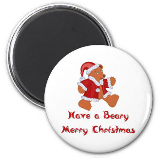 Christmas T-shirts and Gifts with Chrismas Bear Magnet
