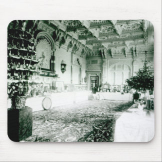 Christmas Tables in the Durbar Room Mousepad
