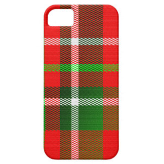 Christmas Tartan Pattern iPhone 5 Covers