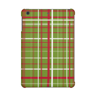 Christmas Tartan Plaid iPad Mini Covers