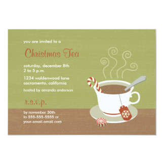 Christmas Tea of Holiday Tea Invitations
