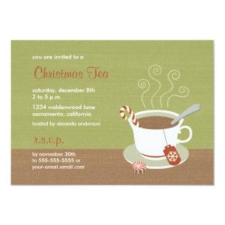 Christmas Tea of Holiday Tea Invitations