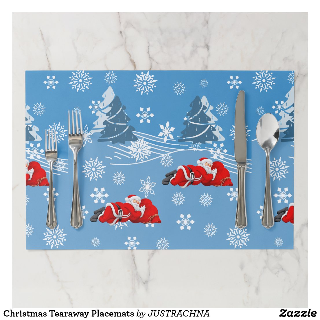 Christmas Tearaway Placemats