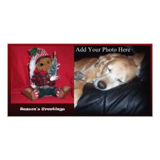 Christmas Ted Custom Photo Card