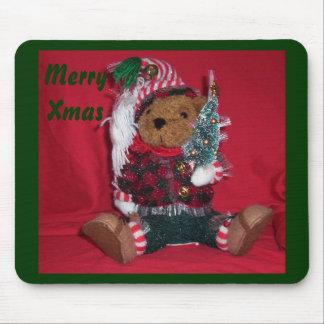 Christmas Ted Mousepads