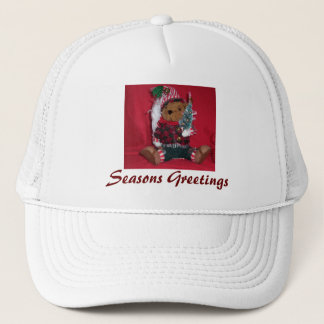 Christmas Ted Trucker Hat