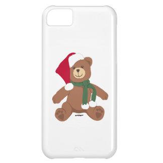 Christmas Teddy Bear Case For iPhone 5C